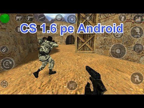 Counter Strike 1.6 pe Android, jocul original de pe PC pe telefon #videotutorial #CSonAndroid