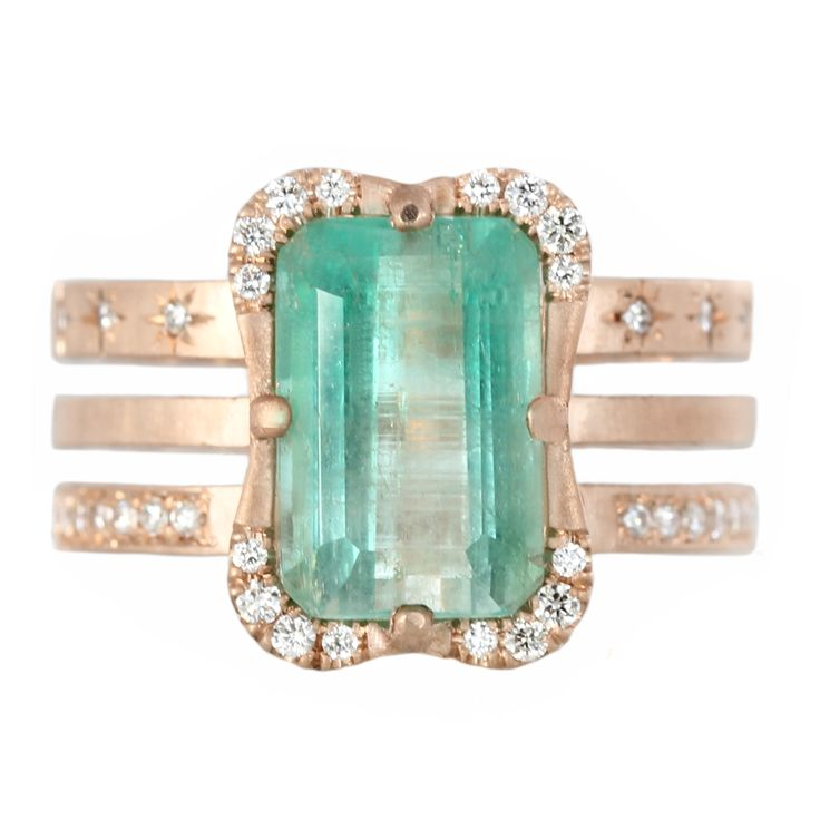 Emerald Effigy Ring Limited Run