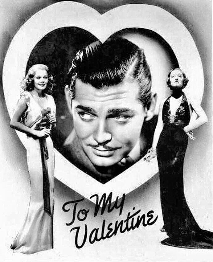 Jean Harlow, Clark Gable & Myrna Loy - Wife Vs. Secretary (1936). Happy  Valentine's Day 💘 | Myrna loy, Jean harlow, Classic movies