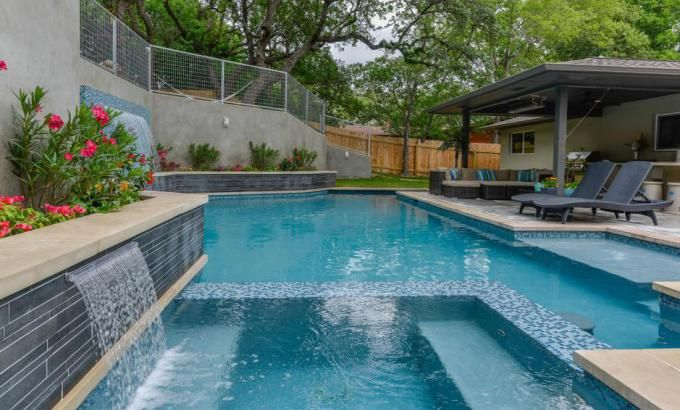 Basalt Smooth Pool Stone For Water Feature in Atlanta