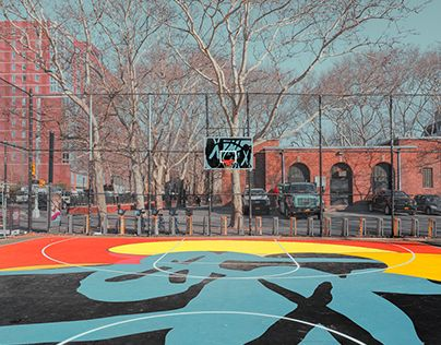 NEW YORK BASKETBALL COURTS - Alphi Creative