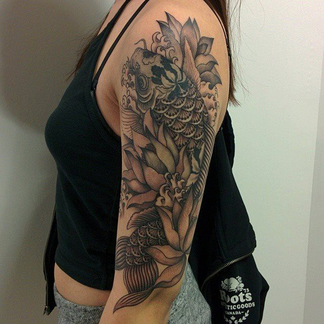 17 best images about asian black and grey tattoos on for Custom ink tattoos