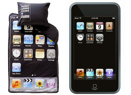 Not personally an Apple fan but these are clever sheets - Now only if the buttons were actually functional.