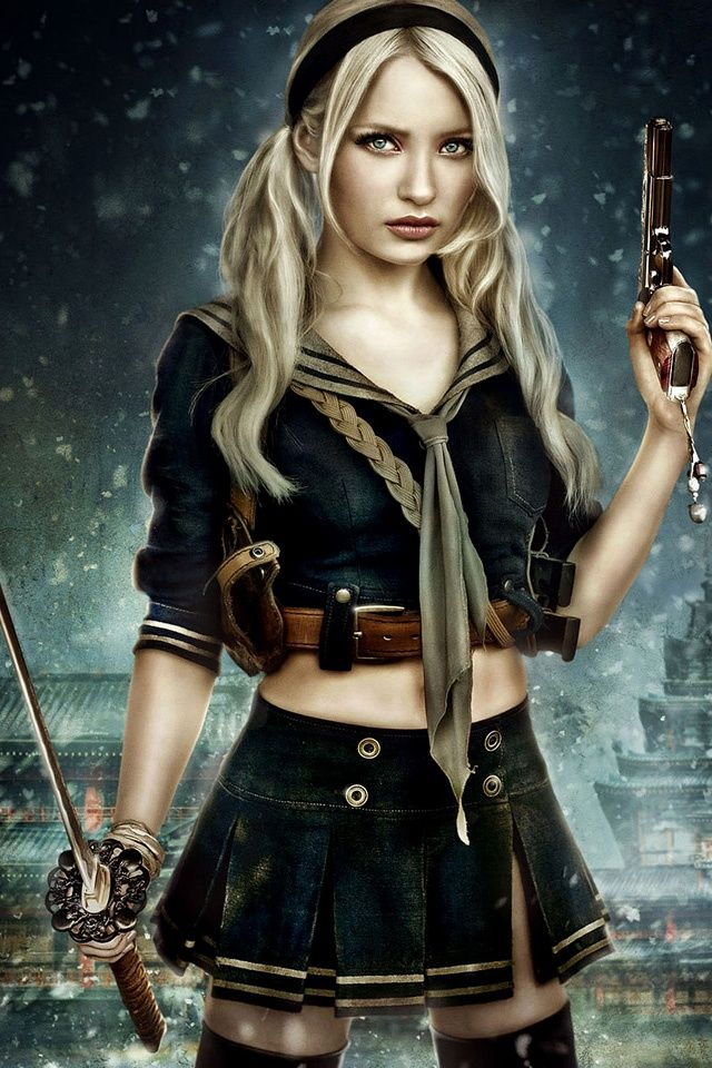 Emily Browning, sucker punch, actress, movie, 720x1280