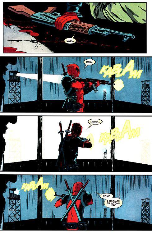 Deadpool #17 Art by Delcan Shalvey Words by Brian Posehn & Gerry Duggan