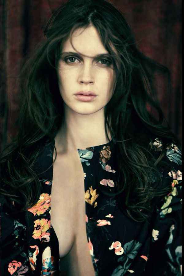 Marine Vacth By Paolo Roversi For Vogue Italia January 2014
