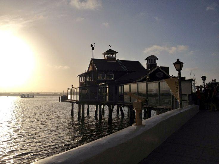 San Diego boardwalk , California