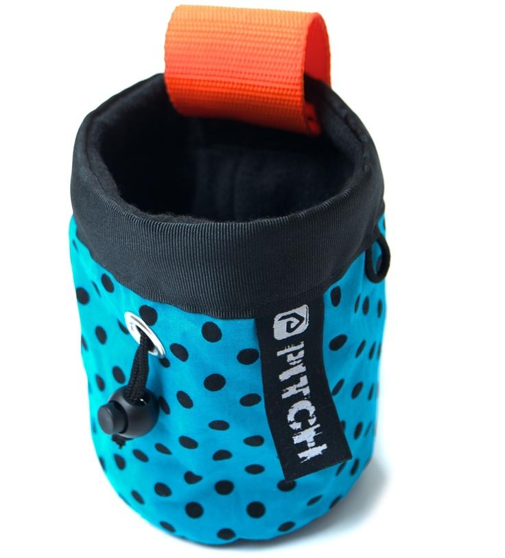 Dotty chalk bag (pitchclimbing.com)
