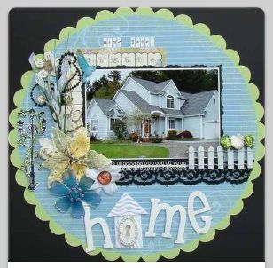 """Cute """"new home"""" page!"""