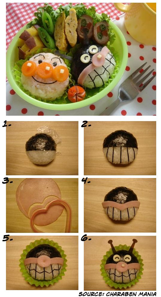 Bento Friday: cute Anpanman bento box | http://rink.me/1kNObe2