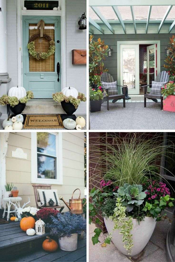 Front porch decorating ideas for winter - Check Out These Swoon Worthy Fall Porch Decorations