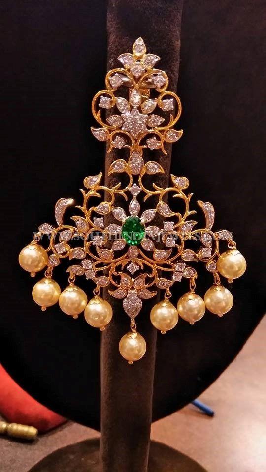 Big Gold Diamond Earrings Collection, Big Diamond Earrings Designs.