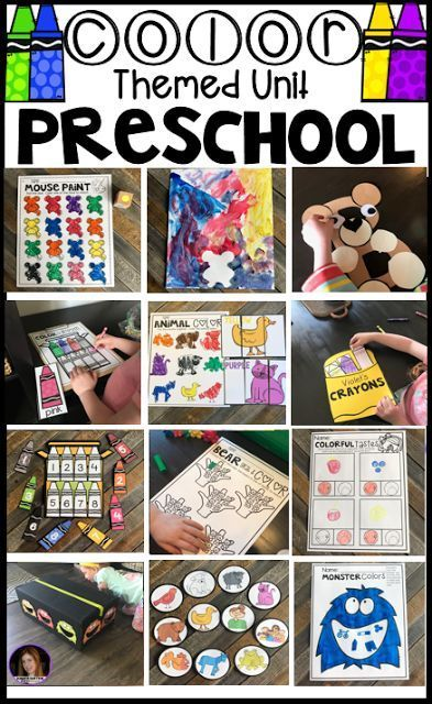 Color Activities And Lessons For Preschool Free Download