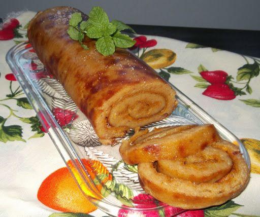 Torta de Abóbora - Torta de Calabaza