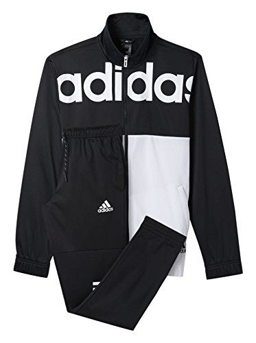 adidas herren tracksuit back to school trainingsanzug schwarz 3 ab7447 adidas. Black Bedroom Furniture Sets. Home Design Ideas