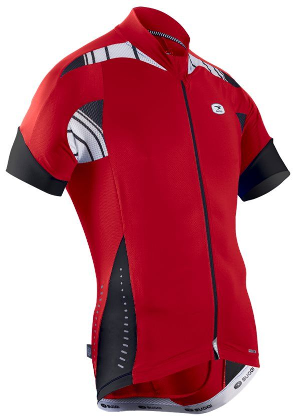 The Sugoi RS Pro Jersey is a lightweight, pro-fit cycling jersey perfect for spending long days in the saddle, under the sun.