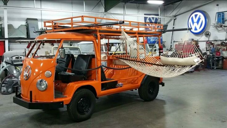 VW camper bus buggy