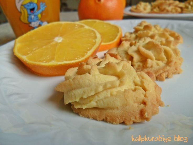 kalpkurabiye: Portakallı Kurabiye