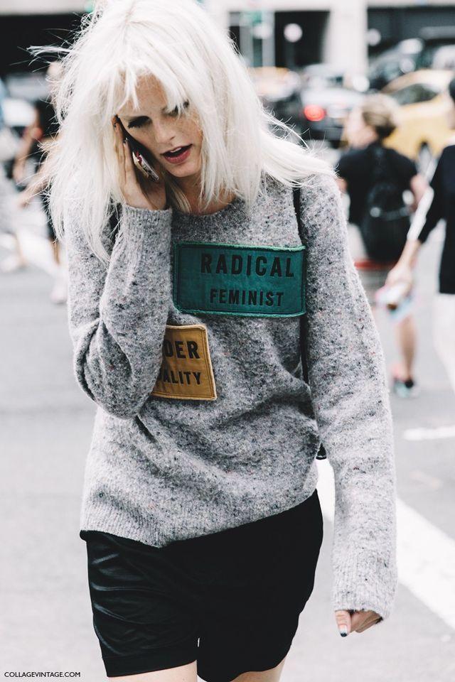 New York Fashion Week Street Style #1