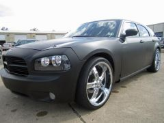 """The Grim Reaper 2005 #Dodge #Magnum RT #HEMI V8 with 22"""" Rims, NAVI, Dual DVD Screens and More for Just - $7,988! -- http://www.cashcarstore.com/classifieds/category/212/Cars/listings/14346/The-Grim-Reaper-2005-Dodge-Magnum-RT.html  #CashCar #CheapCar #HEMIV8"""