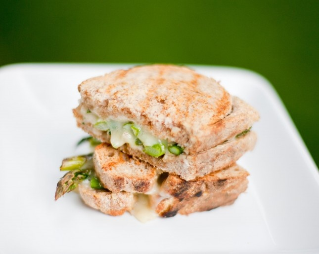 grilled cheese asparagus sandwich | Yummy Recipes and Ideas! | Pinter ...