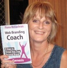 Karen Low with Web Branding Coach Book