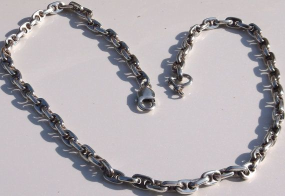 22 Hawaiian Anchor Chain Necklace Scale Model of by AntiquesNXS