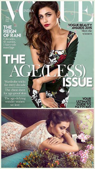 Rani On Vogue INdia
