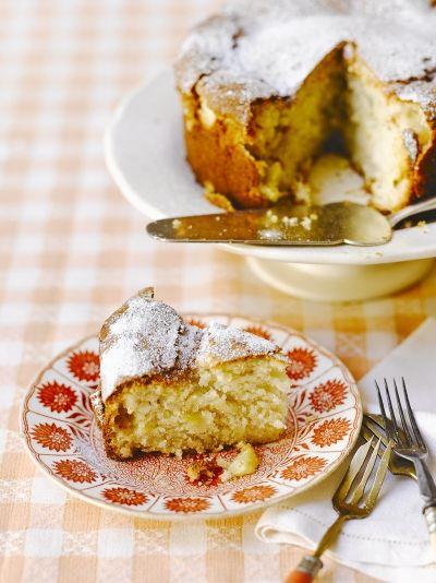 Pineapple & coconut cake   Jamie Oliver (sub for rice flour/df sour cream