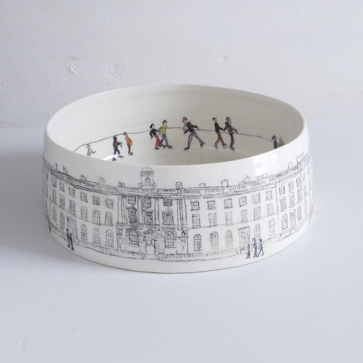 Helen Beard's Image of Skaters at Somerset House- love her work.