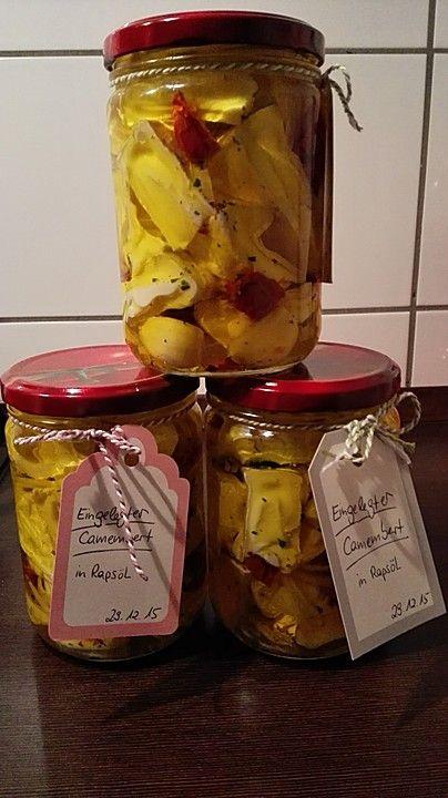 Eingelegter Knoblauch - Camembert 1