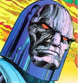 Darkseid is the New God who rules Apokolips, a hellish planet forever at war with its rival, New Genesis. Darkseid's Omega Beams and eventual mastery of Anti-Life equation give him the power to erase free will and life itself from the universe.