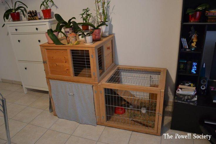 1000 id es sur le th me clapiers sur pinterest lapins rabbit cages et lapin de compagnie. Black Bedroom Furniture Sets. Home Design Ideas