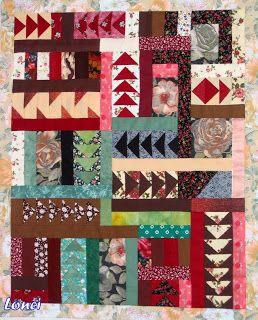 Lonci patchwork: Korak