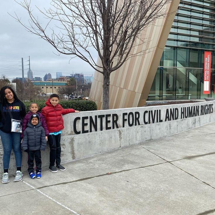 Have Kiddos Will Travel The National Center For Civil And Human Rights Is Family Travel Blog Visit Atlanta Family Travel