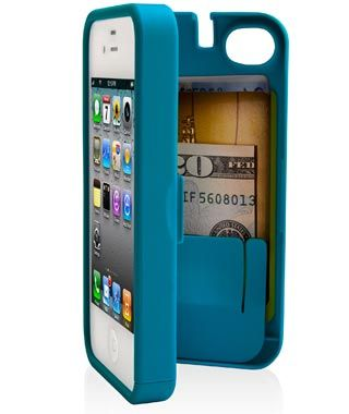 This case is for the iPhone 5.  It holds an emergency stash as well as the phone !  So innovative!