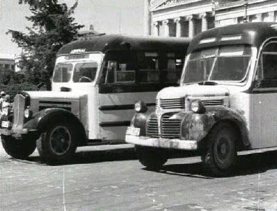 Λεωφορεία με προορισμό τη Λούτσα με σημείο αφετηρίας την πλατεία Αιγύπτου απέναντι απο το πεδίον του Άρεως.