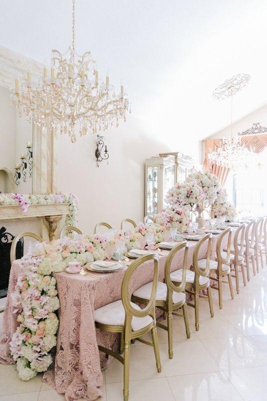 La Tavola Fine Linen Rental: Liza Blush over Nuovo Champagne   Photography: Lunda de Mare Photography, Event Planning & Design: Mirror Mirror Events & Design, Floral Design: Ambiance Floral Design