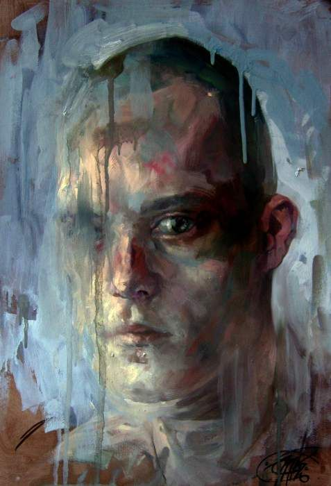 Jakub Kujawa self portrait
