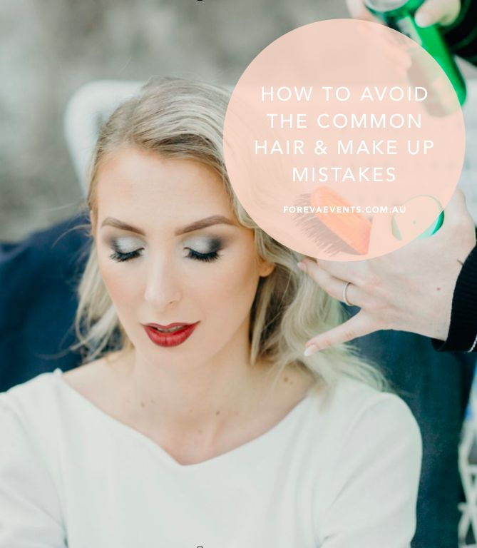 Your wedding day is such an important day and we want it to be just as perfect as you do. Thats why we spoke to Ashleigh, the owner of Lujo Hair and Make Up in Teneriffe, Brisbane about the 4 biggest mistakes brides make with their bridal hair and make up and how to avoid them. Watch the interview on our blog - Foreva Events Wedding Planning and Styling. Just click here: http://www.forevaevents.com.au/avoid-mistakes/ Photo by Brisbane Photographer Cloud Catcher Studio.