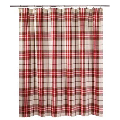 Avanti Linens Hunter Plaid Shower Curtain