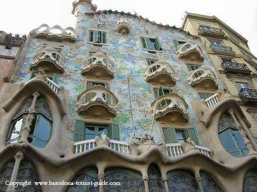 Casa Batllo, Spain
