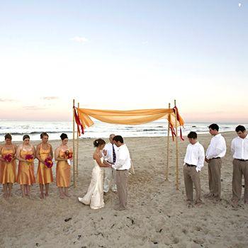 Love This Simple Ceremony Decoration.