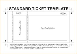 Image Result For Tickets Template Free Download  Play Ticket Template