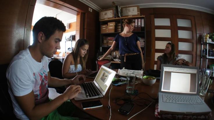 Trabajando para cambiar el mundo. #office #sustentable #eco
