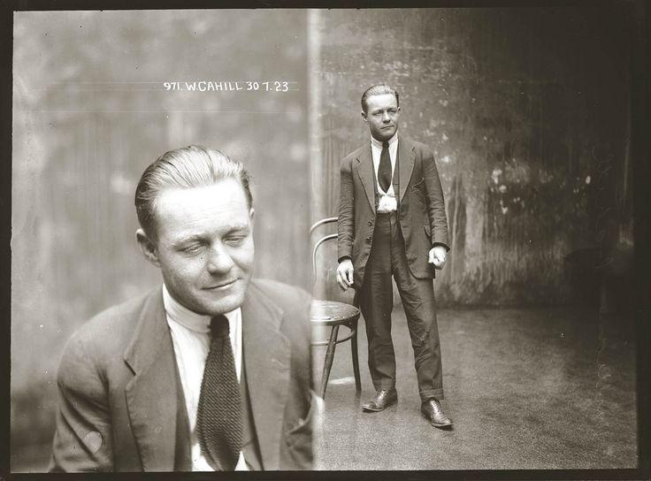 Portret kryminalisty, 1920