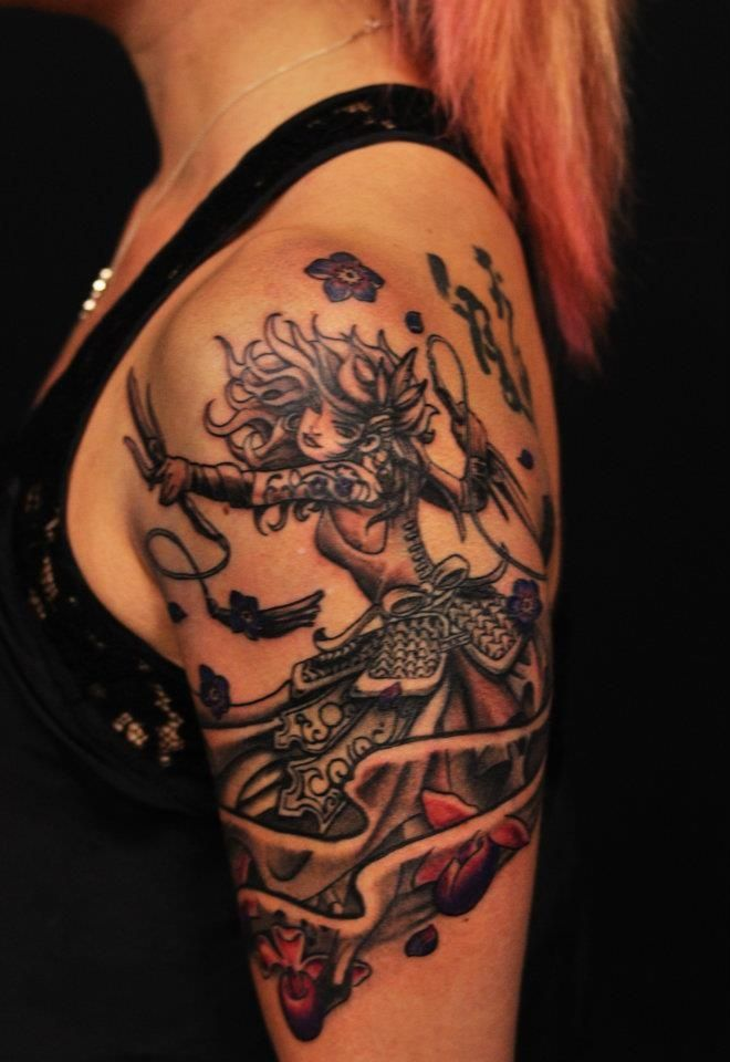 35 best Warrior Symbol Tattoos For Women images on ...