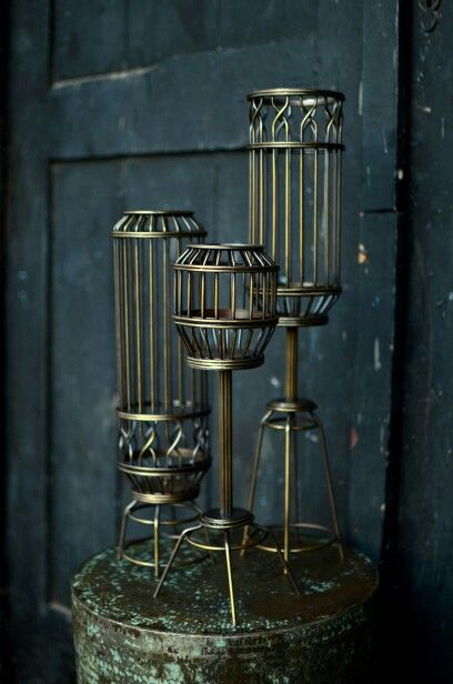 KANDANG Candle Holder by eugenio hendro for NOOK 2012