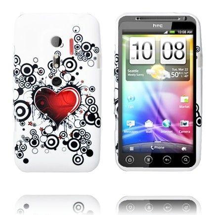 Symphony (Punainen Sydän) HTC Evo 3D Silikonisuojus