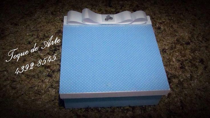 Caixa personalizada para padrinhos